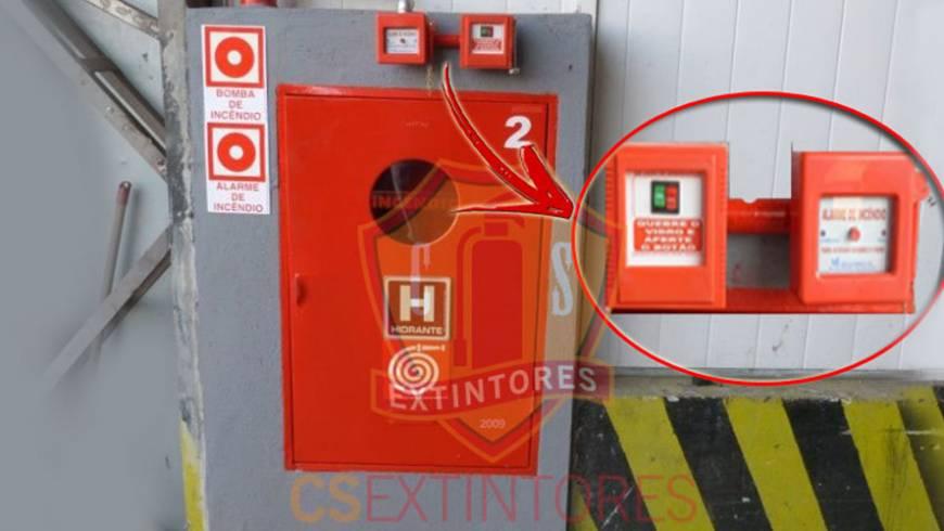 Abrigos para mangueiras – Alarmes e bombas de incêndio