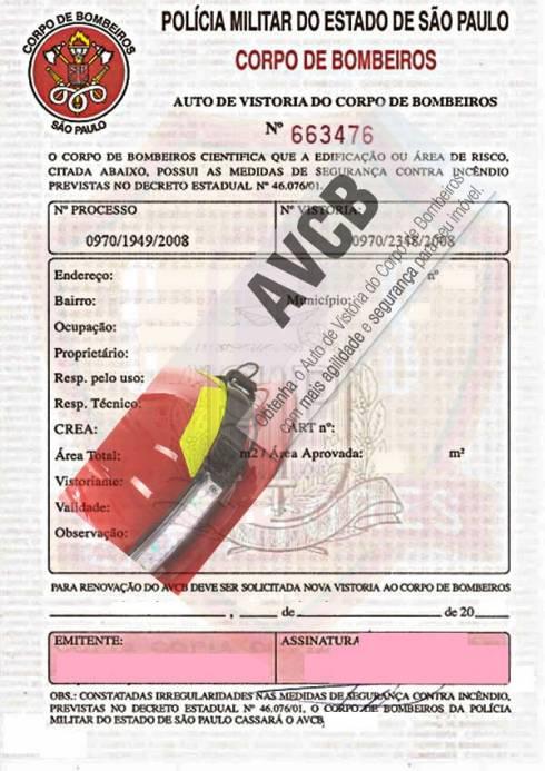 Renovação laudo AVCB / CLCB
