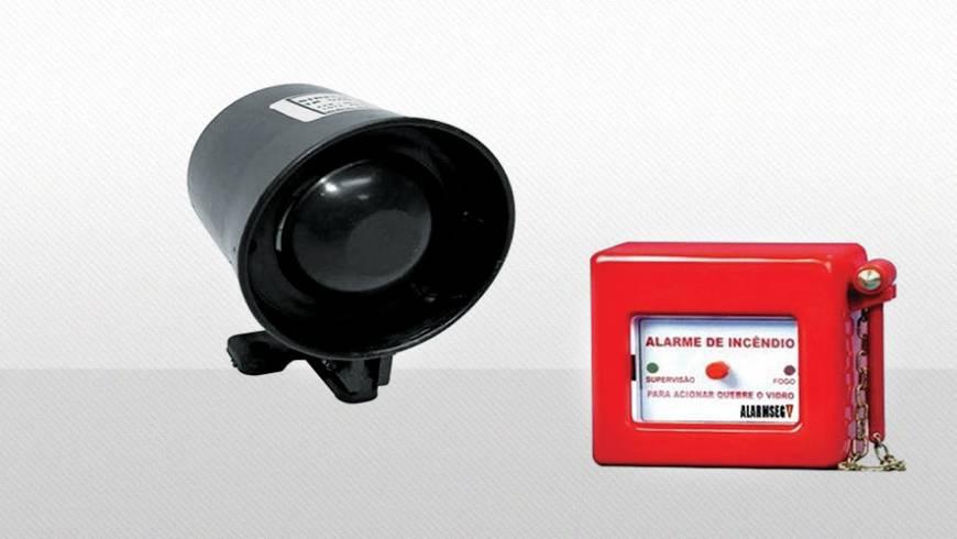 Centrais de alarme de incêndio