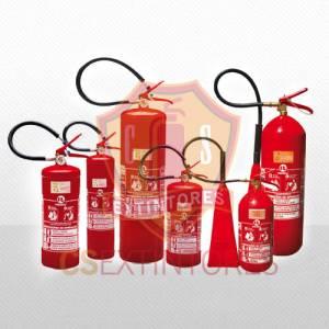 Extintores – BC, ABC, água, pó químico e CO2