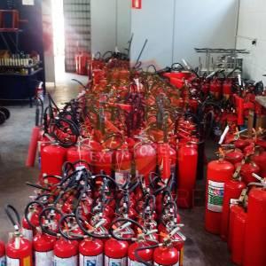 Recarga e Manutenção  Extintores de Incêndio
