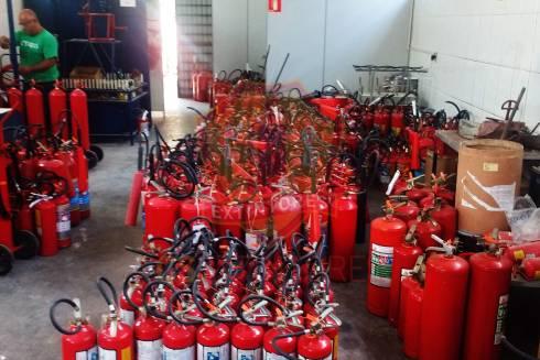 Recarga e Manutenção – Extintores de Incêndio