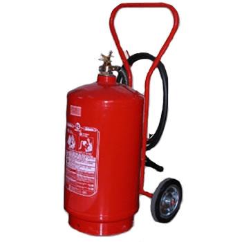 Extintores carreta com rodas